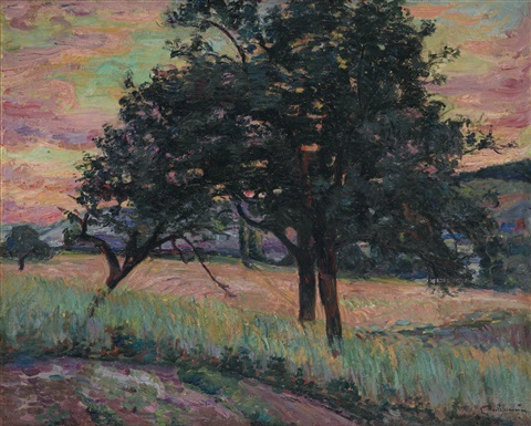 paysage de lîle de france by armand guillaumin