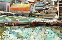 spring thaw, yellowknife by jane mcquitty