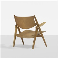 sawback chair by hans j. wegner