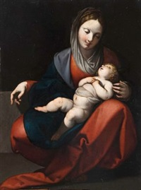 madonna mit kind by luigi amidano