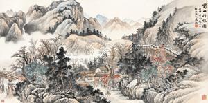 蜀山行旅 by ma dai
