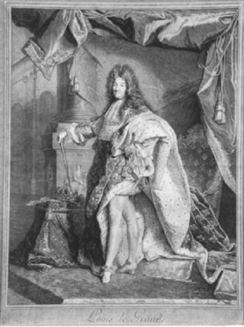 louis xiv de france louis le grand by pierre drevet