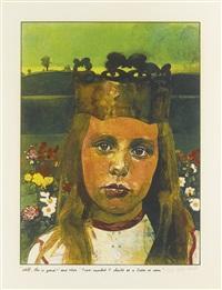 alice in wonderland (8 works) by peter blake
