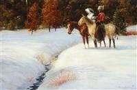 early snow by harvey william (bud) johnson