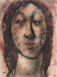 dívčí portrét by ota janecek