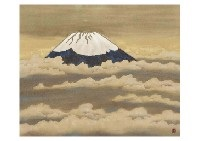 peak on the clouds by yoson ikeda