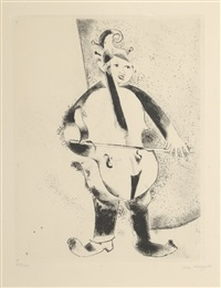 le musicien by marc chagall
