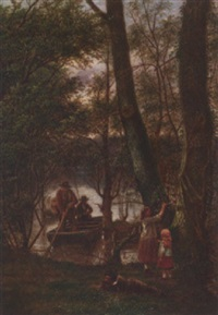 at the riverbank by william h. ward