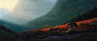 crimson cascade by daniel smith