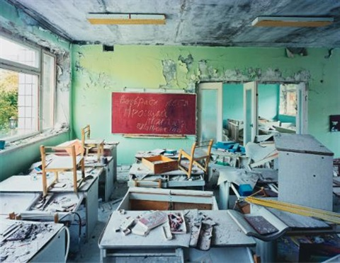 classrooms in kindergarten 7 golden key pripyat by robert polidori