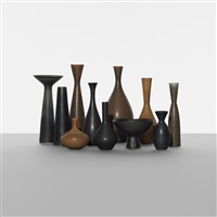 collection of vessels (set of 11) by carl-harry stålhane