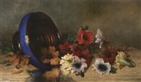 nature morte aux fleurs by g. augizeau