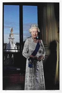 hm queen elizabeth ii's diamond jubilee by john swannell