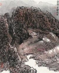 秋山傍居 by jiang baolin