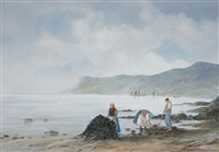 gathering seaweed by edward emerson