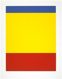 blue/yellow/red by ellsworth kelly