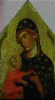 madonna col bambino by paolo veneziano