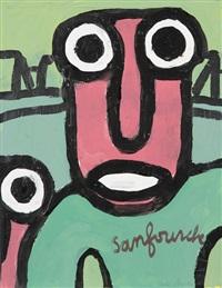 visage by jean-joseph sanfourche