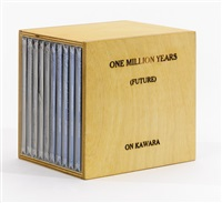 one million years (past) and (future) by on kawara