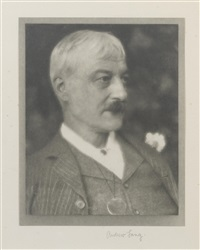 portrait of andrew lang, scottish poet by alvin langdon coburn
