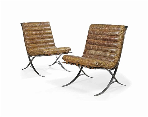 garcia lounge chairs pair by andrew martin