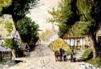 dorfstraße by carl köck