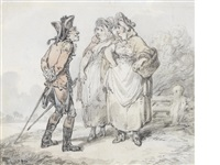 an eye for a fair wench by thomas rowlandson