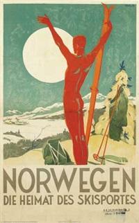 norwegen die heimat des skisportes by trygve m. davidsen