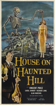 house on haunted hill by allied artists