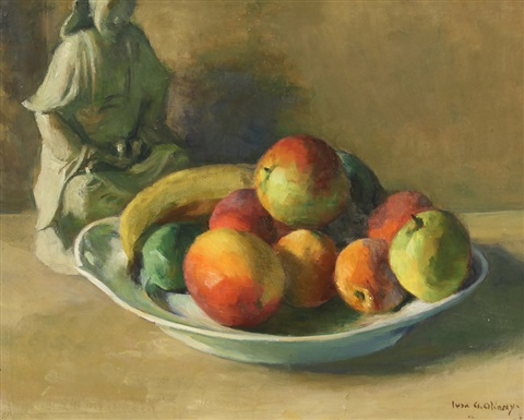 fruit bowl by ivan g olinsky