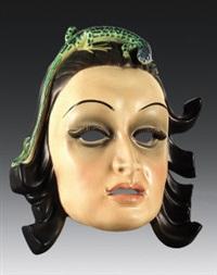 maschera con ramarro by otto maraini