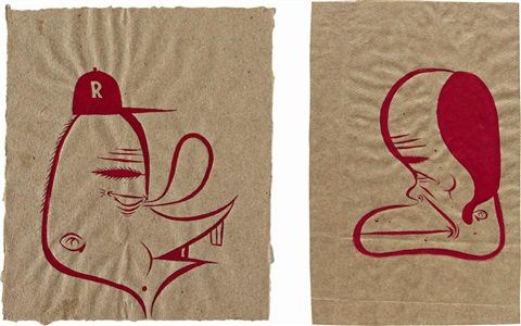 untitled 2 works by barry mcgee
