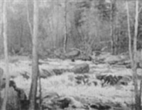 winter scene by harry spiers
