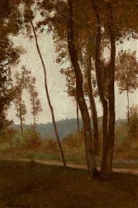 lisière de bois à l'automne by antoine chintreuil