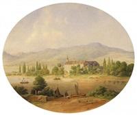maria laach (+ kloster nonnenwerth am rhein; 2 works) by adolf wegelin