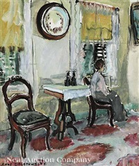 a victorian interior by anne wilson goldthwaite