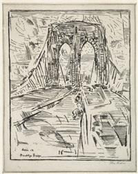brooklyn bridge no. 6 by john marin