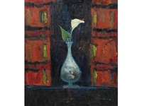 arum lily in a vase by william selby