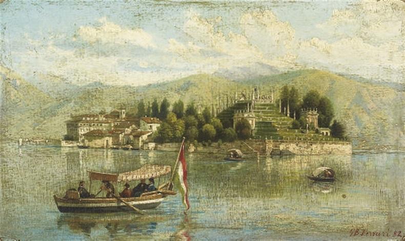 isola bella lago maggiore by giovanni battista ferrari