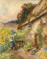 country cottage by george charles haite