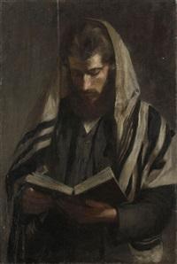 rabbin au tallit by irene hilberth