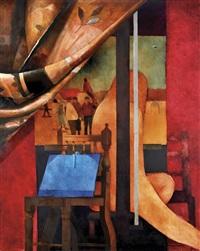 o atelier do pintor (modelo) by rogerio ribeiro