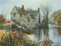 willy lott's cottage by margaret glass