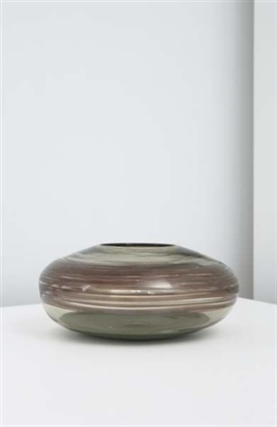rare spiralato vase by thomas stearns