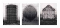 every... bernd and hilla becher prison type gasholders, every... bernd and hilla becher spherical... and every... bernd and hilla...(in 3 parts) by idris khan