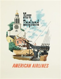 new england/american airlines by bern hill
