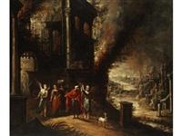 der untergang von sodom und gomorrha by jan christiansz micker