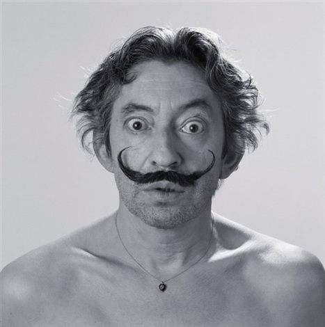 gainsbourg en dali by roberto battistini