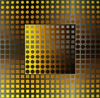 untitled, from permutations 51 by victor vasarely