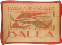 manifesto mostra futurista by giacomo balla